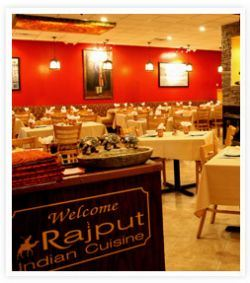 Rajput Indian Cuisine Seating