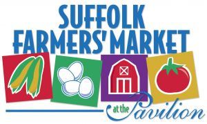 Suffolk Farmers' Market at the Pavilion Logo