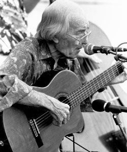 Charlie Byrd Playing Guitar and Singing